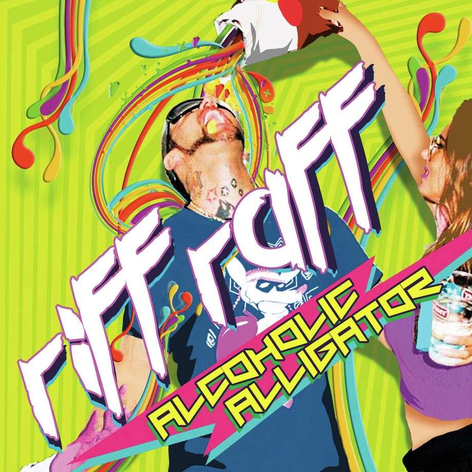 Riff Raff's new album is called Alcoholic Alligator. Photo: Album Art