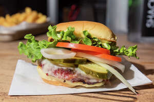 Shake Shack is testing a new veggie burger in three cities