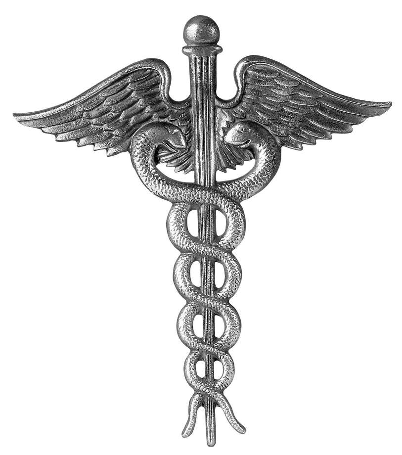 Medical caduceus.