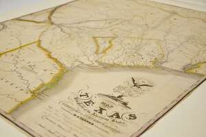 The Texas A&M University Libraries recently acquired a rare first edition of Stephen F. Austin's own map of Texas first produced in 1830. According to officials at the school it is one of eight known to be in existence.