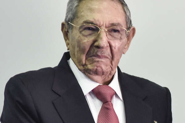 Raul Castro, seen at the Non-Aligned Movement (NAM) Summit in Margarita, Venezuela, in 2016, is expected to step aside as Cuba's president this week.