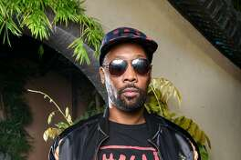 The RZA poses for a portrait during a launch party for his clothing line, 36 Chambers, at the Asian Art Museum in San Francisco, Calif., on Thursday September 21, 2017.