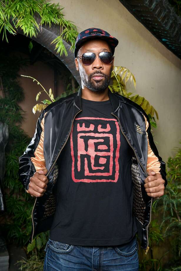 "The RZA poses for a portrait during a launch party for his clothing line, 36 Chambers, at the Asian Art Museum in San Francisco on Sept. 21, 2017. RZA will be back in the city at the Castro Theatre to live score his favorite film, ""The 36th Chamber of Shaolin,"" on April 26, 2018. Photo: Michael Short / Special To The Chronicle 2017"