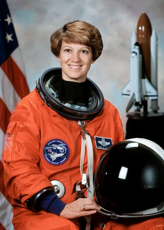Astronomy Day guest speaker retired U.S. Air Force Col. Eileen Collins will lead the Relativity lecture at 4 p.m. and announce the winner of the SpaceXplore competition. Photo: Courtesy Photo