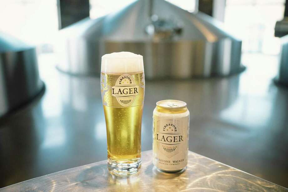 Firestone Lager is a lighter beer that's a deviation from the hoppy, strong, and barrel aged beers that are the big names in Firestone Walker's beer lineup. Photo: Courtesy Photo