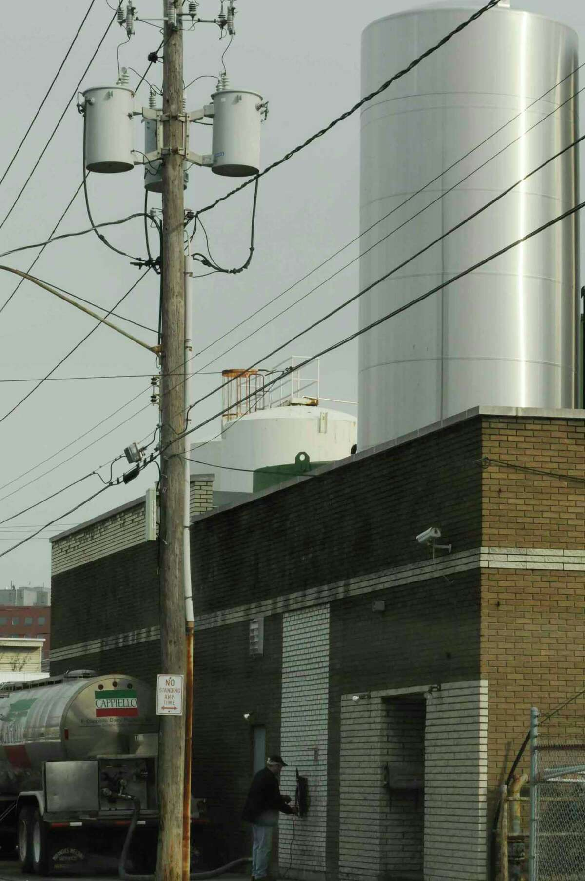 BelGioioso Cheese makes the Cappiello brand of mozzarella at this cheese plant in Schenectady. The plant is expected to remain open even after BelGioioso opens a new $25 million facility in Glenville.