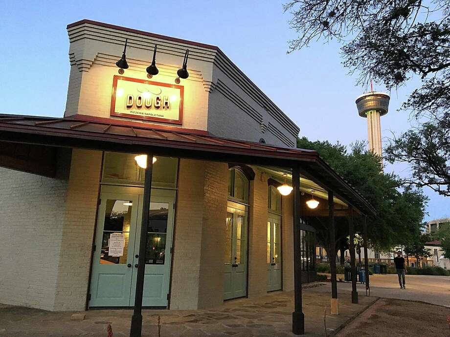 The new Dough Pizzeria Napoletana location at Hemisfair Plaza is set to open at noon May 26. Photo: Mike Sutter /San Antonio Express-News