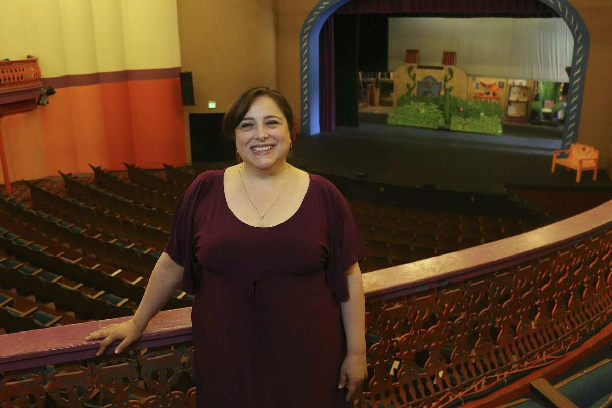 Frances Limoncelli, who was photographed shortly after she became managing artistic director of Magik Theatre in 2016, is leaving the theater this summer.