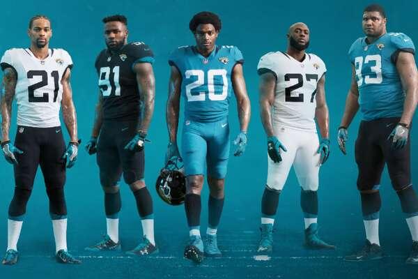 The new Jacksonville Jaguars uniforms