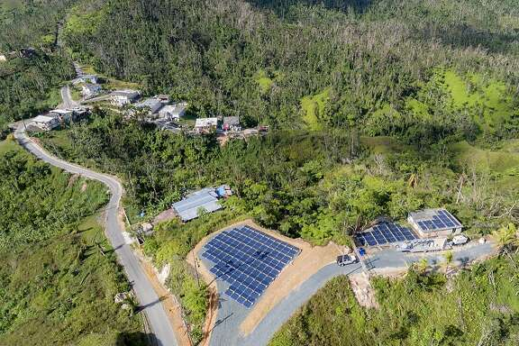 Tesla said over 1,000 Tesla batteries were on the ground in Puerto Rico delivering power at 662 locations.