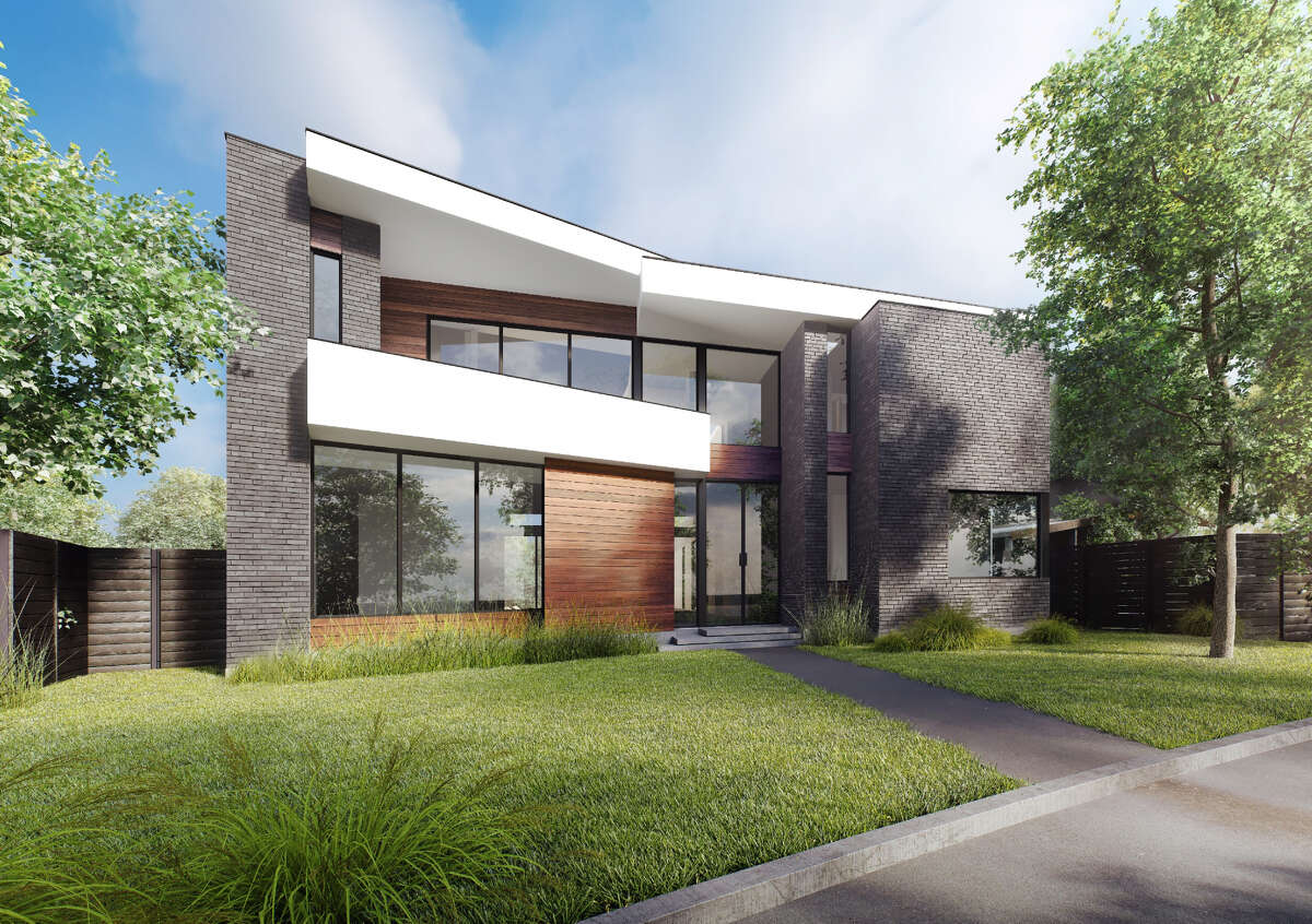 Rendering of George Cole-designed house on Milford.