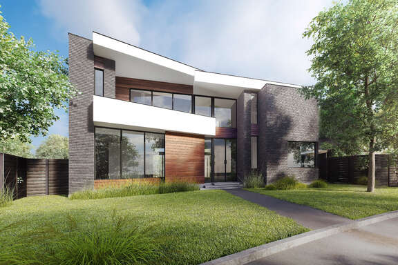 Rendering of George Cole-designed house in the Museum District.