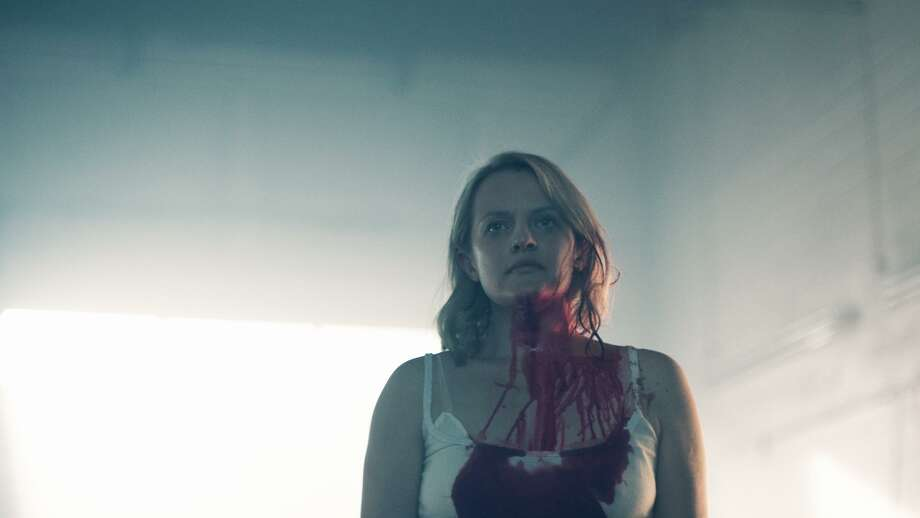 "Season two of ""The Handmaid's Tale"" continues the harrowing journey of Offred/June (Elisabeth Most) and is, in many ways, more chilling and disturbing than Hulu's first season of the series. Photo: Take Five /Hulu / 2017 Hulu"