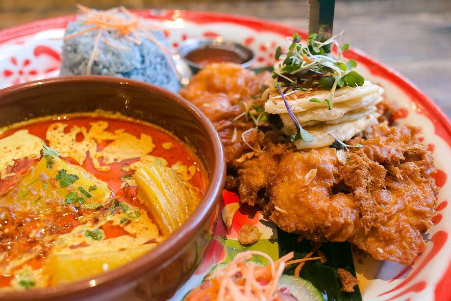 The Hay Yai Fried Chicken at Farmhouse Thai Kitchen. Photo: Jen Fedrizzi / Special To The Chronicle