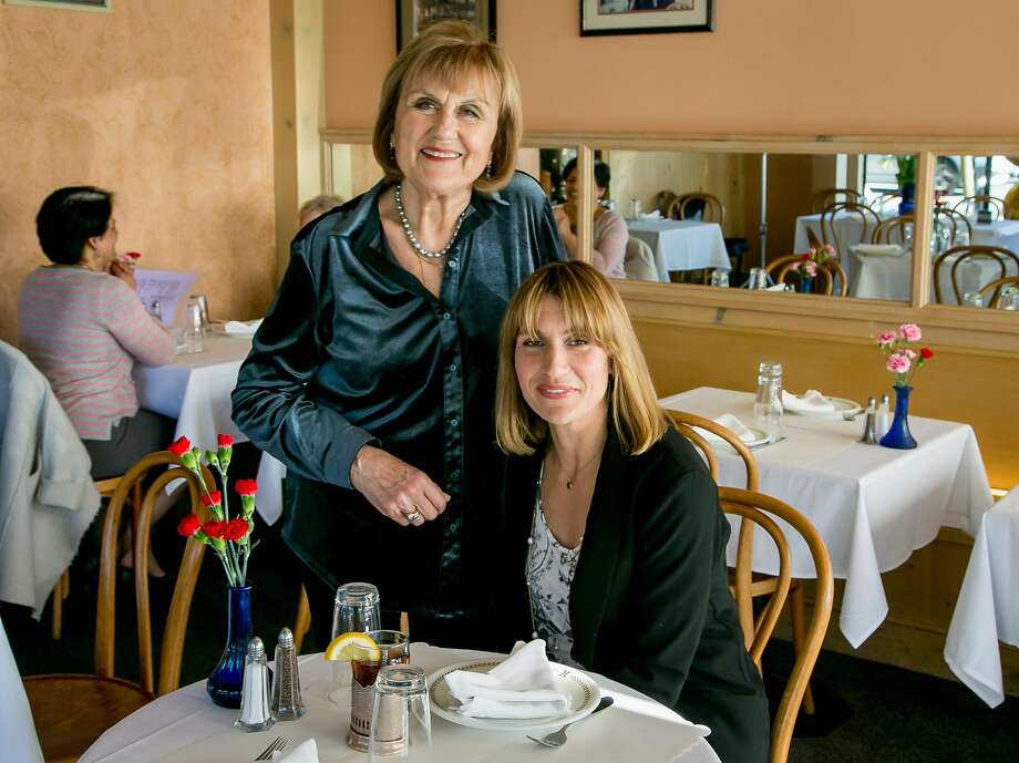 Katia Troosh with her daughter, Helen Simmons, who is taking over the family business, Katia's Russian Tea Room, in S.F. Photo: John Storey / Special To The Chronicle
