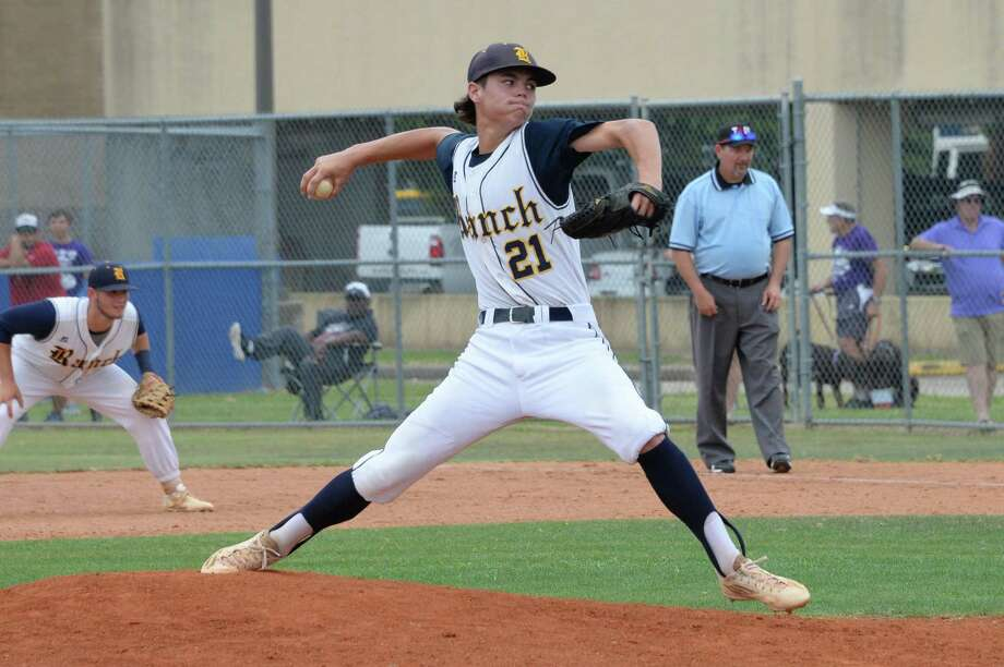 Cy Ranch senior right-handed pitcher J.J. Goss was voted unanimously as the 2018-19 District 14-6A Most Valuable Player. Photo: Craig Moseley, Staff / Houston Chronicle / ©2017 Houston Chronicle