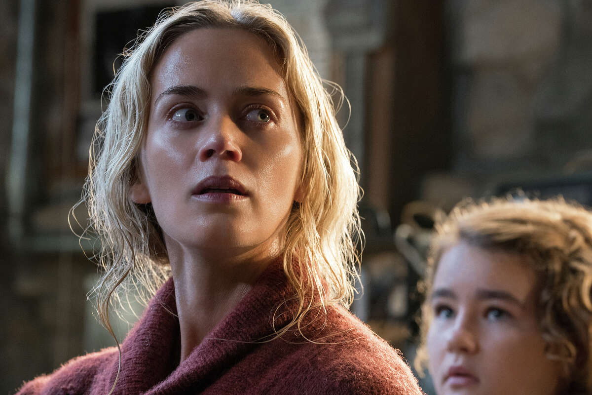 """Emily Blunt and Millicent Simmonds in """"A Quiet Place."""""""
