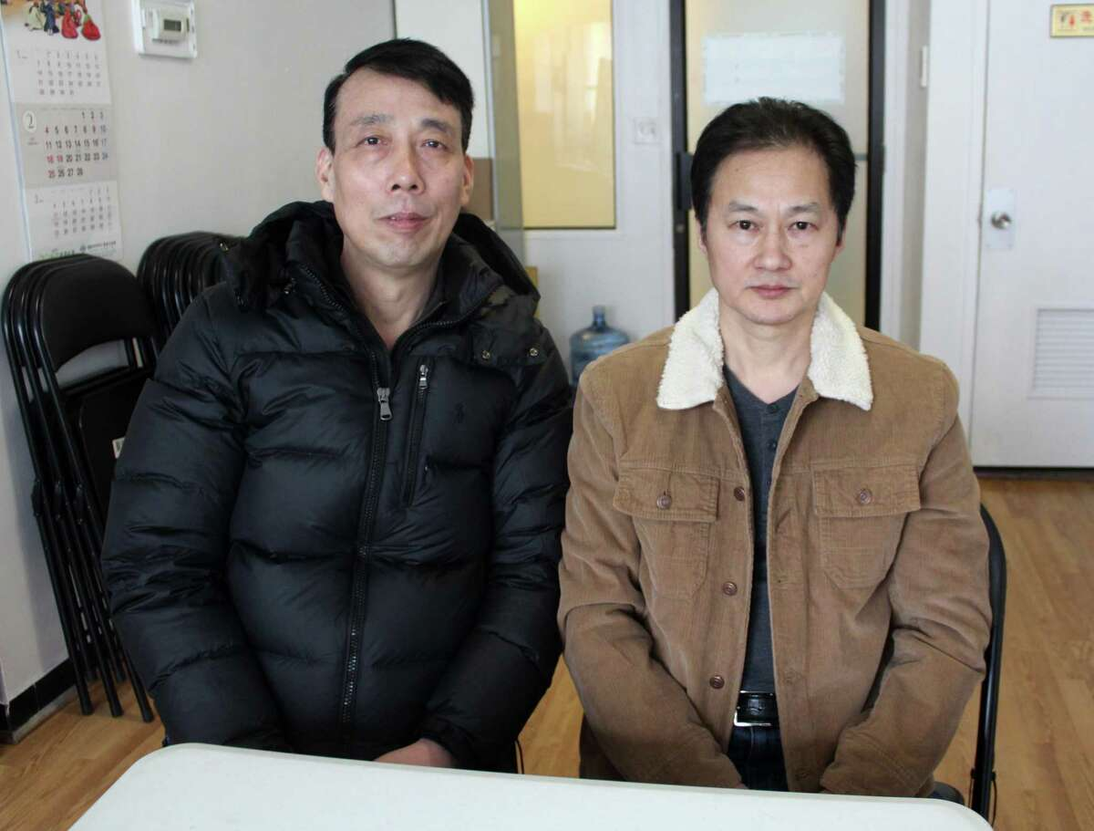 Jianming Jiang and Liguo Ding were fired from Matsu Sushi in Westport and filed a complaint with
