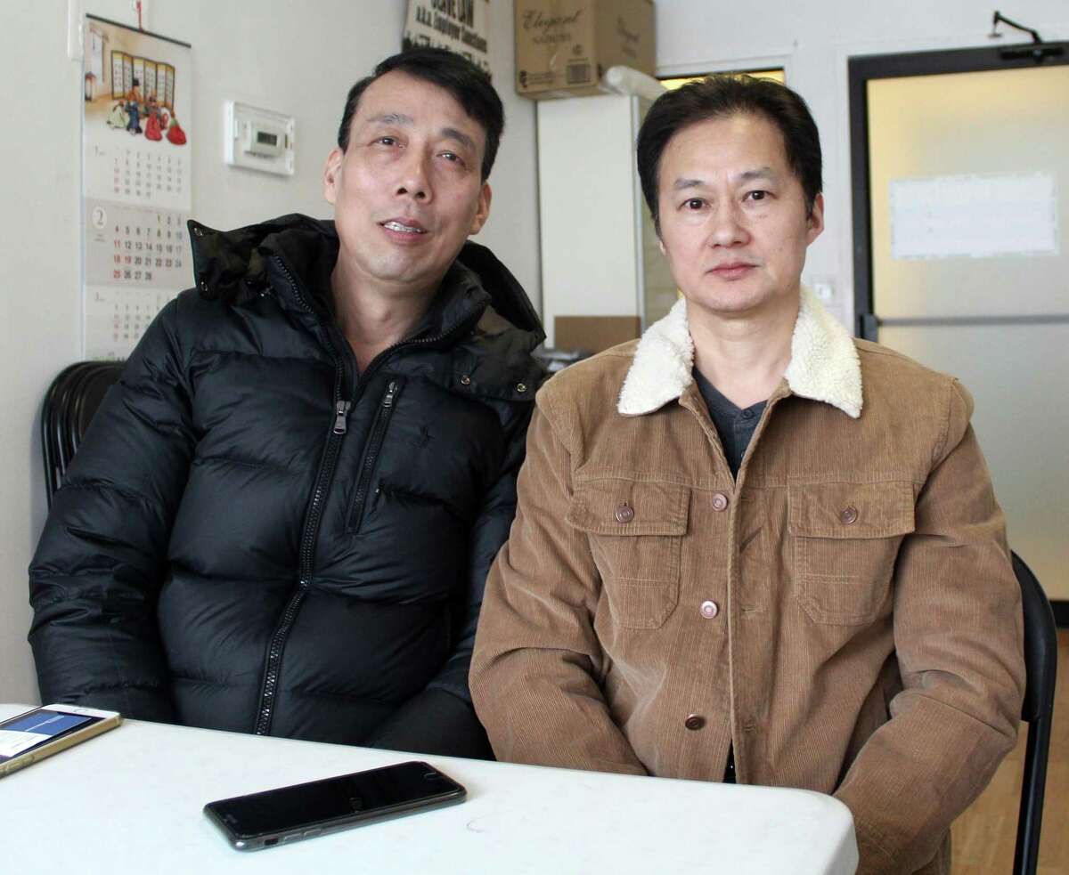 Jianming Jiang and Liguo Ding were fired from Matsu Sushi in Westport and filed a complaint with the National Labor Relations Board.