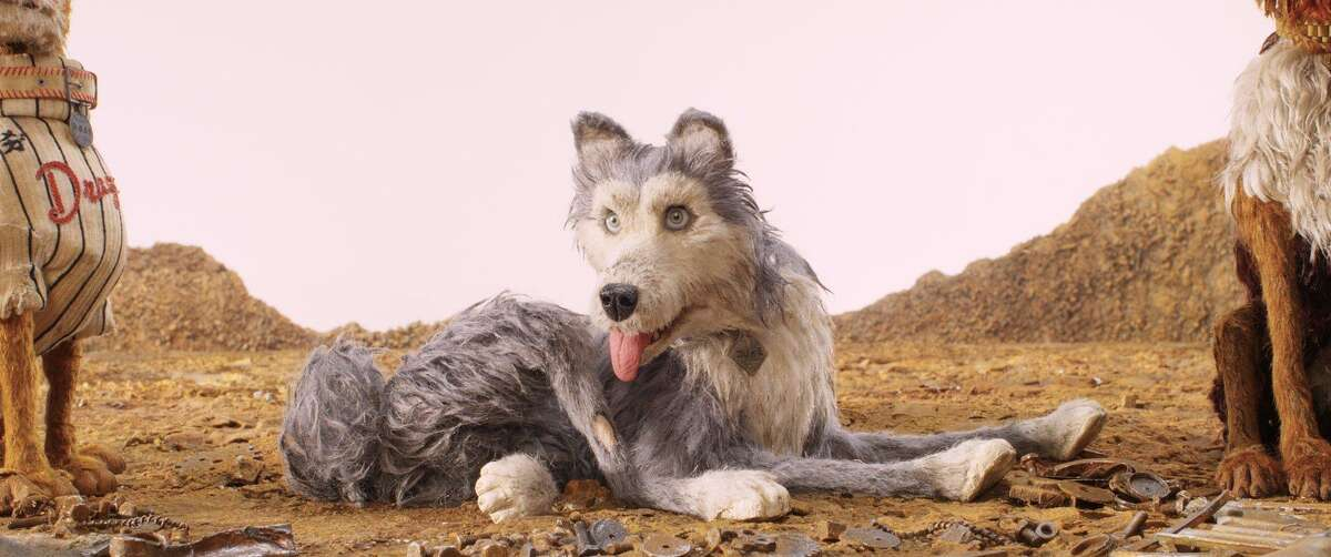 """This image released by Fox Searchlight Pictures shows the character Duke, voiced by Jeff Goldblum, in a scene from """"Isle of Dogs."""""""