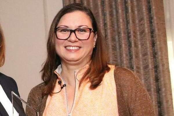 Mari Ellen Reynolds Loijens spoke at a Florida business event in January.