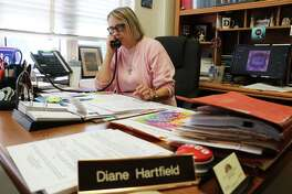Court Coordinator Diane Hartfield will retire this month from the County Judge's office after nearly three decades of service to the county.