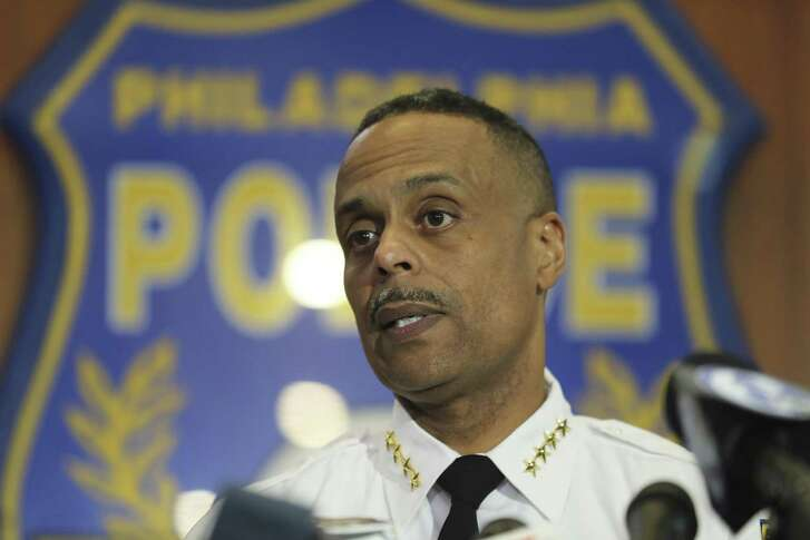 Philadelphia Police Commissioner Richard Ross speaks to the media during a news conference, Thursday, April 19, 2018 in Philadelphia. Ross apologized to the two black men who were arrested at a Starbucks, saying that the issue of race is not lost on him and he shouldn't be the person making things worse.