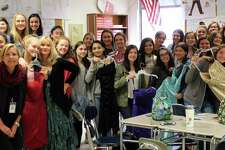 The Princesses Club at Fairfield Warde High School is seeking donations of prom dresses for the Cinderella Project.