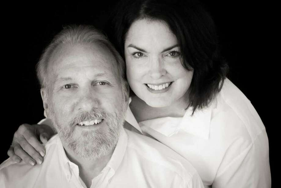 The Spurs released a photo of Gregg Popovich and his wife, Erin, who passed away Wednesday. Photo: San Antonio Spurs/Courtesy