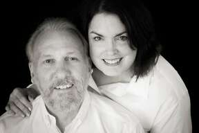 The Spurs released a photo of Gregg Popovich and his wife, Erin, who passed away Wednesday.