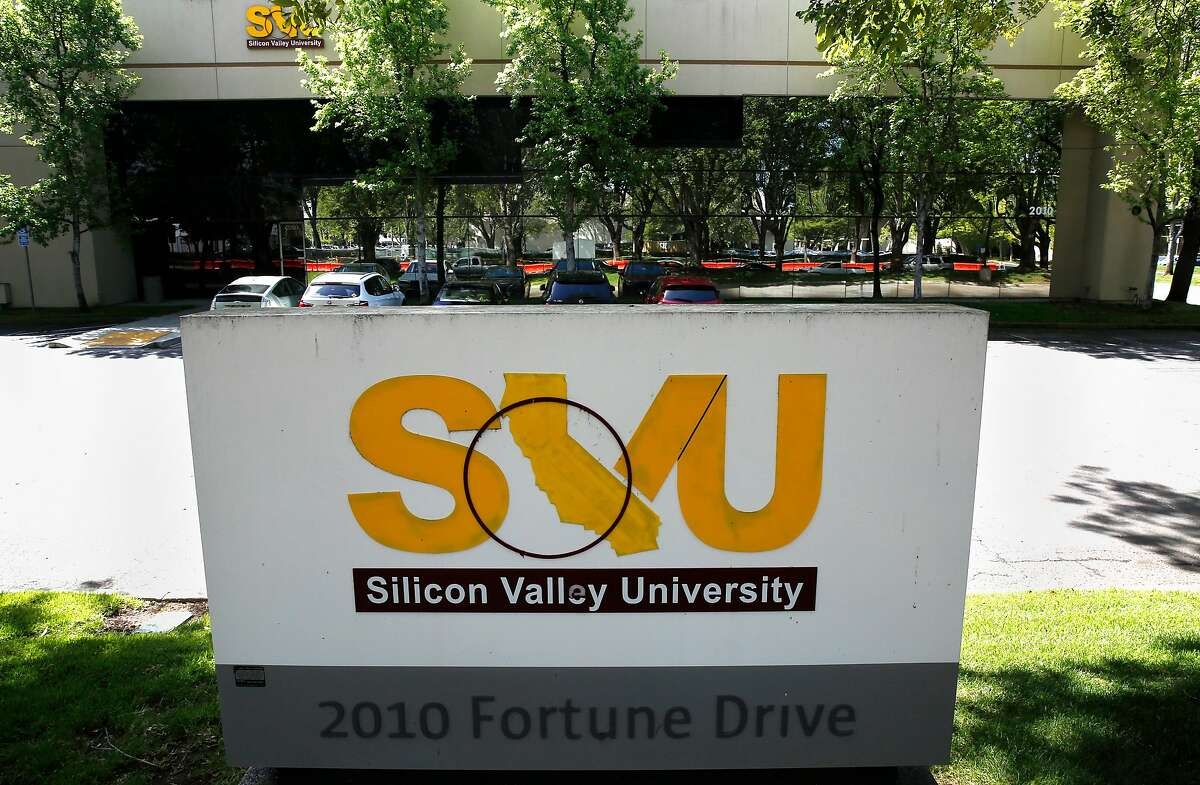 The Silicon Valley University building on Fortune Drive in San Jose, Ca. , as seen on Thurs. April 12, 2018.