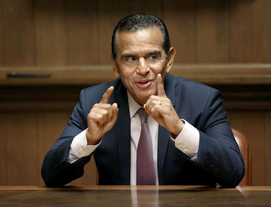 California gubernatorial candidate Antonio Villaraigosa. Photo: Liz Hafalia / The Chronicle