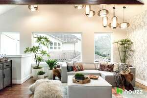 TV personality Mario Lopez surprised his sister with this dance/fitness/hangout space above the garage of his family's Bellaire home.