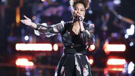 "Spensha Baker of San Antonio scored with a Carrie Underwood song and made it into the Top 12 of ""The Voice"" on NBC."