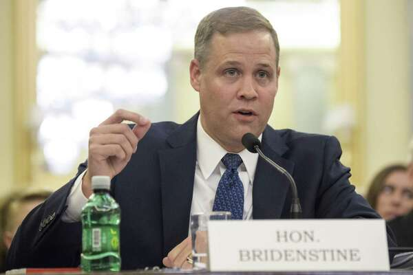 Rep. James Bridenstine, R-Okla., was approved Thursday in a party-line vote in the Senate as the next NASA administrator.