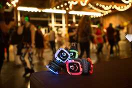 At a silent disco party three streams of music are sent simultaneously to special headphones worn by attendees, who have the option to switch channels at their whim. The Palace Theatre in Stamford will host one on April 26 to benefit its arts education programs.