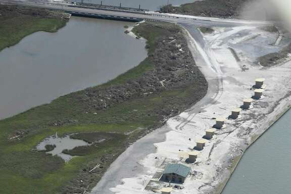 The boat ramp at Goose Island State Park near Rockport reopened to the public this week, but the rest of the popular park remains closed because of extensive damage from Hurricane Harvey. The storm inflicted an estimated $32-$48 million in infrastructure damage to 30 Texas Parks and Wildlife Department sites.