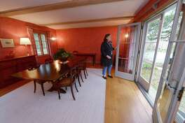 Barbara Rosiello at her home at 55 Davis Hill Road Tuesday, April 17, 2018, in Weston, Conn. Many Metropolitan Opera singers and composers passed through the home at 55 Davis Hill Road in Weston, where famed conductor Fritz Reiner and his wife made their main residence in the 1930s.