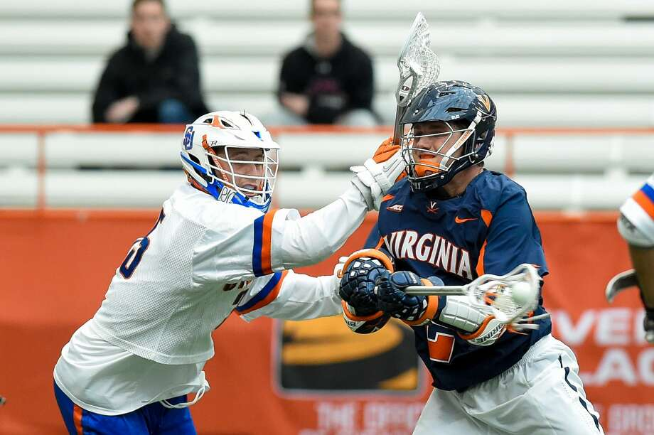 New Canaan High alum Michael Kraus will return to Dunning Stadium on Saturday as as member of the Virginia lacrosse team when the Cavaliers take on Vermont. Photo: Rich Barnes / Getty Images / 2017 Rich Barnes