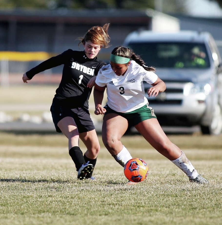 Dryden at EPBP — Girls Soccer 2018 Photo: Paul P. Adams/Huron Daily Tribune