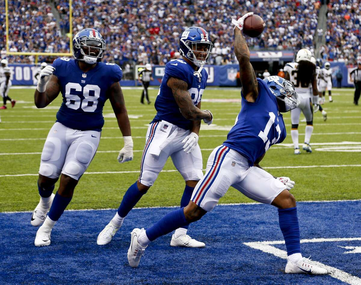 Sunday, Sept. 23 Giants at Texans, noon Texans favored by 6 points