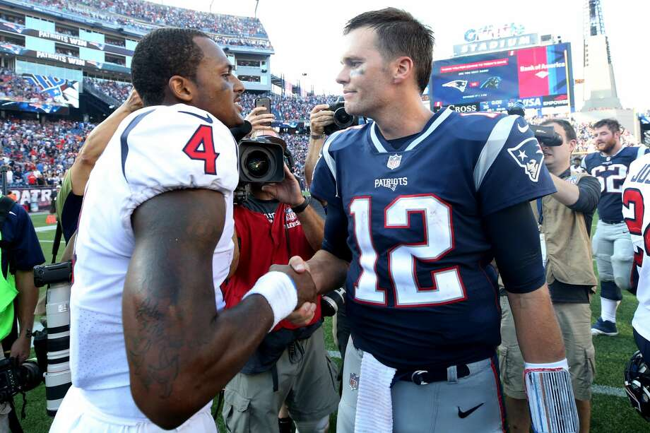 Sunday, Sept. 9 Texans at Patriots, noon Patriots favored by 7 points Photo: Maddie Meyer/Getty Images