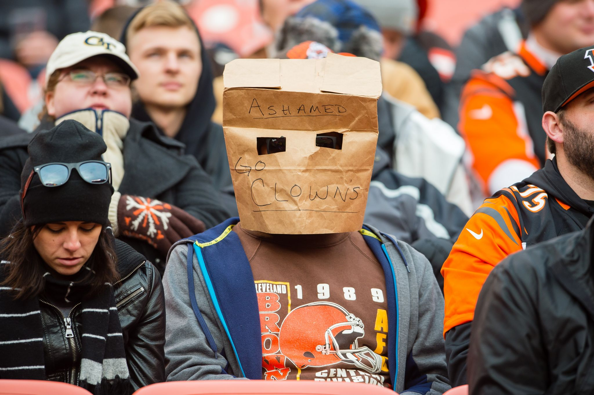 The Browns banned the wrong fan. Now he's suing them.