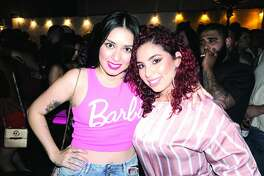 Gaby Parra and Paty Ventura at The Happy Hour Downtown Bar   Friday, April 20, 2018