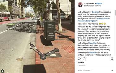 Startling photos of abandoned Birds show the electric scooter