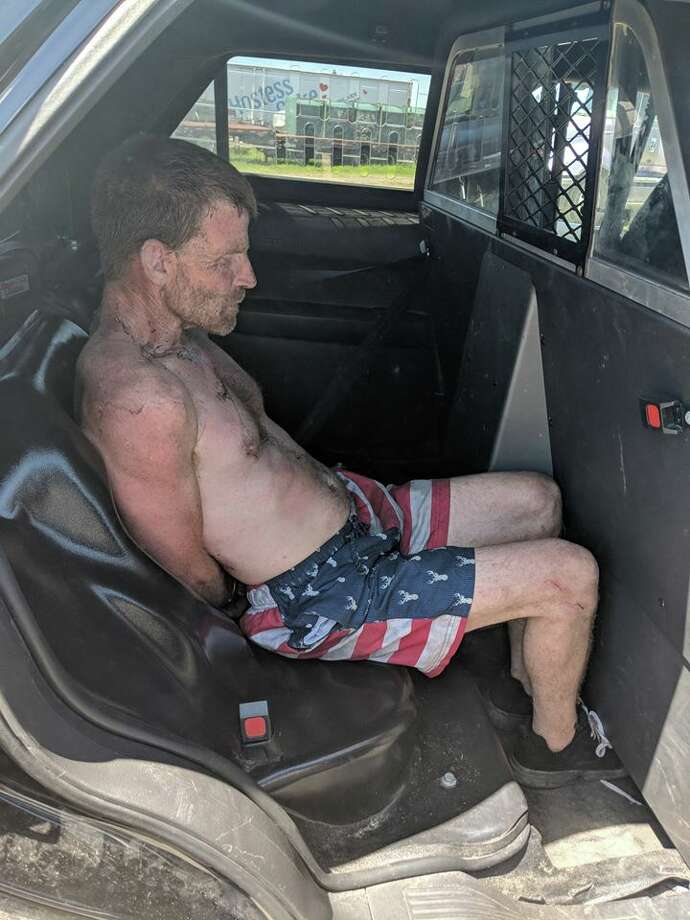 A transient man is accused of stealing a delivery truck containing beer and leading Santa Rosa police officers on a chase Thursday morning. Photo: Santa Rosa Police Department