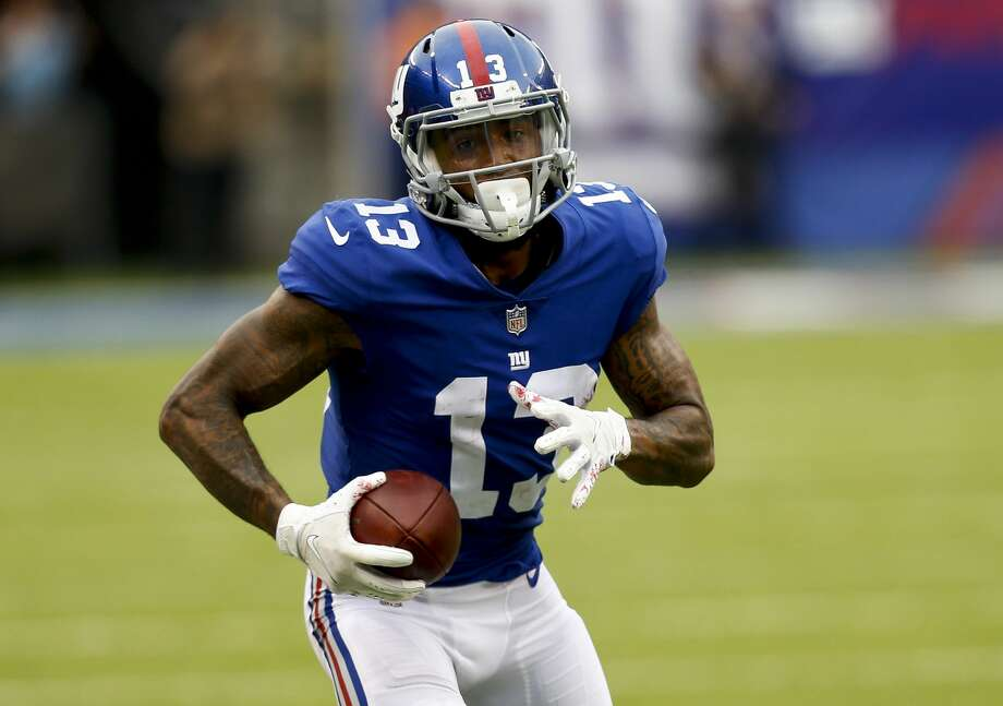 The Giants will look to get an offensive boost with the return of star receiver Odell Beckham Jr. from an injury that sidelined him for most of the 2017 season. Photo: Jeff Zelevansky/Getty Images
