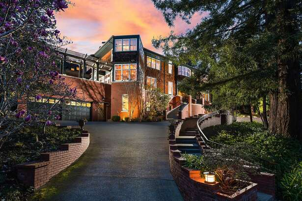135 Cross Road in the Claremont Pines neighborhood of Oakland�s Upper Rockridge area is a five-bedroom available for $2.985 million.