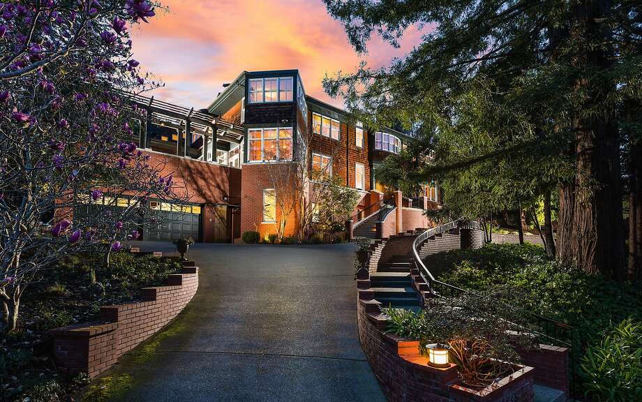135 Cross Road in the Claremont Pines neighborhood of Oakland's Upper Rockridge area is a five-bedroom available for $2.985 million. Photo: Peter Lyons Photography