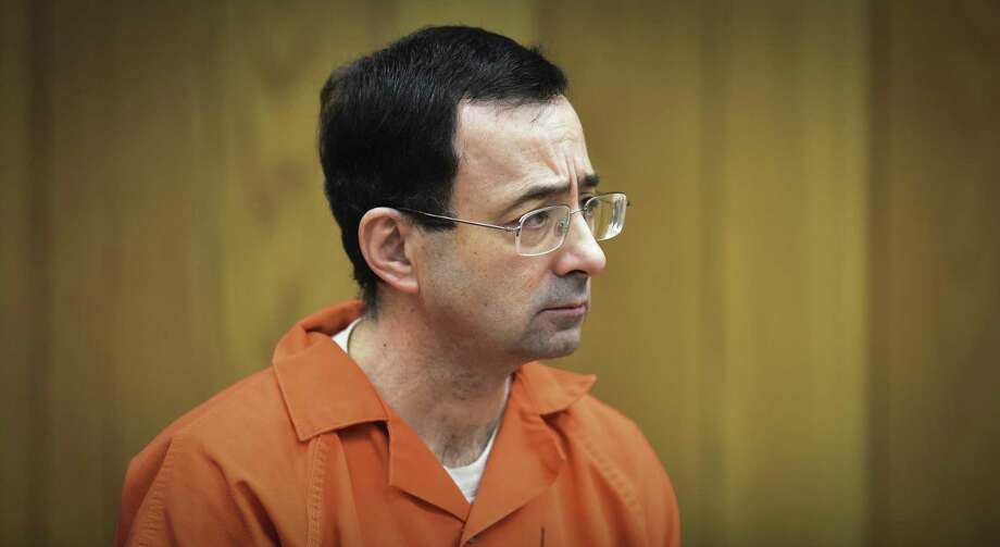 Larry Nassar is at the center of lawsuits filed against several entities. Photo: Matthew Dae Smith, MBR / Associated Press / Lansing State Journal